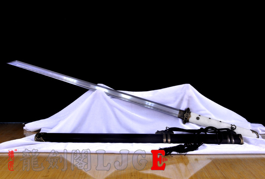 鱼皮柄简装唐刀-T10钢烧刃