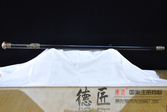 龙腾手杖剑-百炼花纹钢