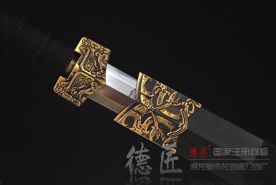 加长八面匠风剑-百炼钢烧刃