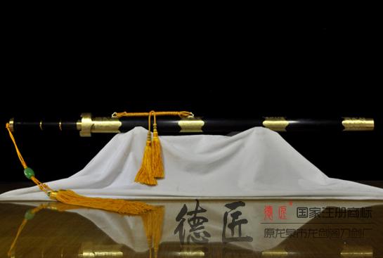 八面越王剑-百炼花纹钢