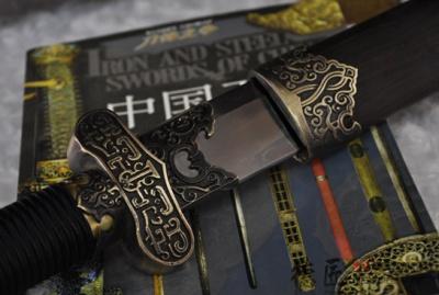 专利作品·黑金古刀-T10钢