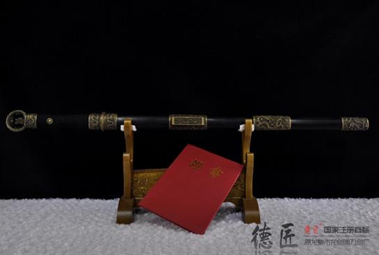 获奖作品—环首剑-德匠手锻钢