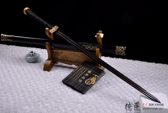 龙彩汉剑-特制扭转百炼钢