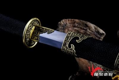 白虹刀-地肌百炼钢