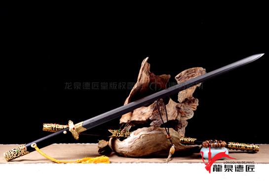豪华唐剑-百炼花纹钢