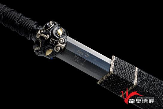 精品饕餮剑-毛铁锻