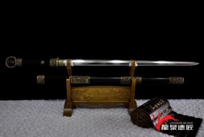 专利作品·龙装环首剑-百炼钢烧刃