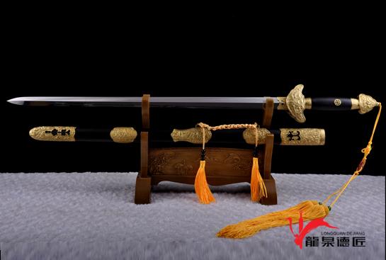 乾隆佩剑-弹性百炼钢
