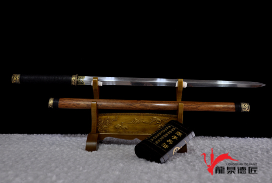 铜装唐剑-羽毛钢