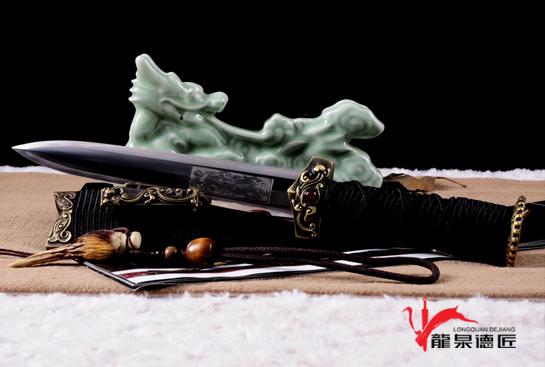 赤壁小汉剑-百炼花纹钢