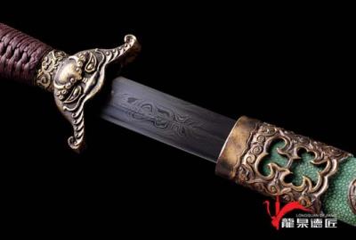 经典鱼皮清剑-高性能百炼钢