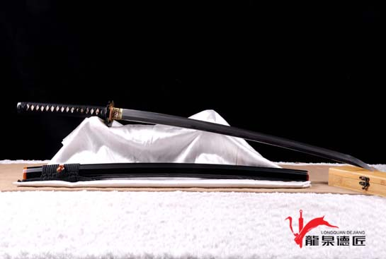 长门直纹武士刀-百炼地肌钢