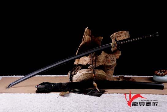 雷切-T10钢烧刃