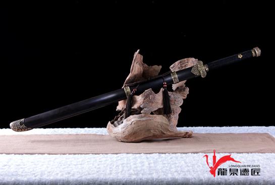 专利作品·黑金古刀-百炼钢烧刃