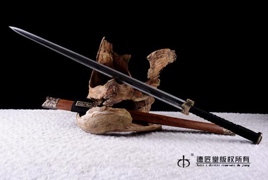 匠风八面汉剑-羽毛钢烧刃