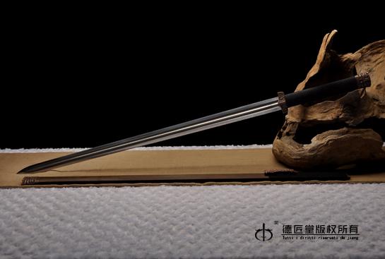 紫铜龙渊汉剑-德匠自炼钢