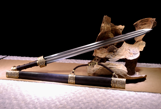 精装越王剑-百炼钢烧刃