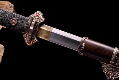 新唐刀—听风-夹钢(三枚合)