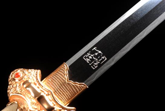冰裂纹唐剑-夹钢(三枚合)