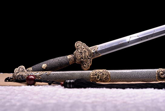 泉宗-七星剑-扭转自炼钢