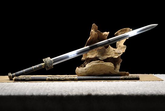 上古帝王剑-经典版-百炼花纹钢