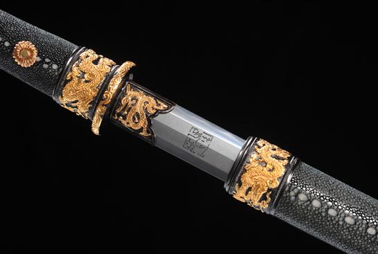 专利作品·匠心珍藏版·武款-冰裂纹夹钢(三枚合)