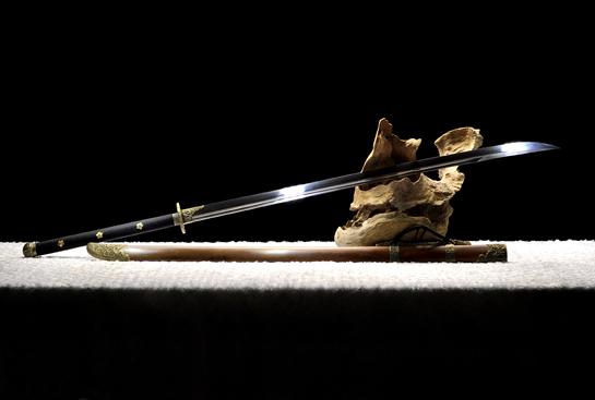 蝙蝠苗刀-百炼花纹钢