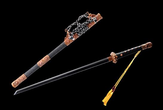 麒麟唐刀-经典版-夹钢(三枚合)