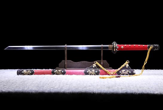 麒麟唐刀-珍藏版-夹钢(三枚合)