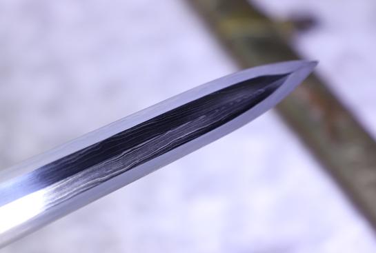 臻品小作-白虹剑-夹钢(三枚合)