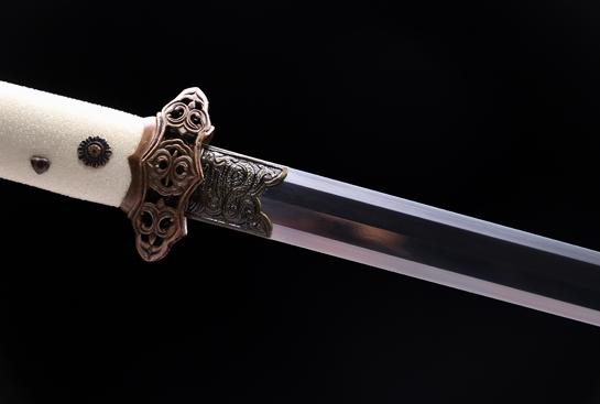 唐将唐剑-精致版-夹钢(三枚合)