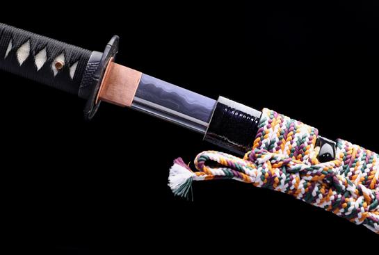 国安武士刀-百炼钢烧刃-独家格斗研