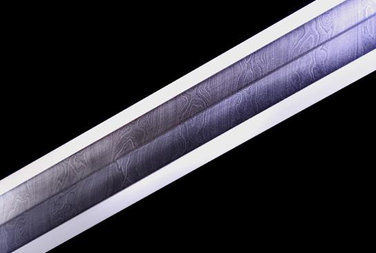 老装银丝汉剑-经典款-扭转百炼钢