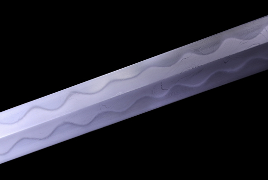 银装龙尚剑-典藏版-自炼钢扭转-纯银手工雕刻