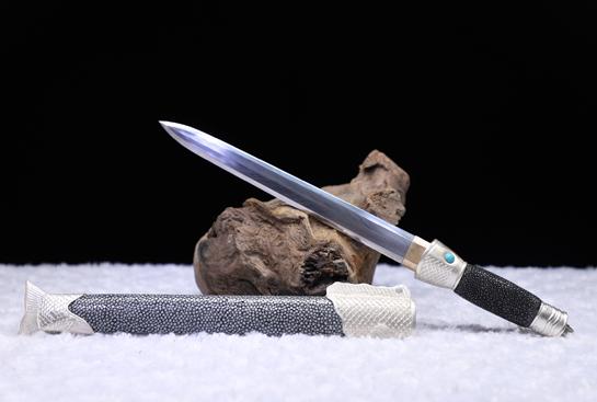 十大名剑之鱼肠剑-珍藏版-羽毛钢