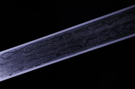 吴越战剑-典藏版-草钢-毛铁-黄铜纯手工立体雕刻(夹钢复合)