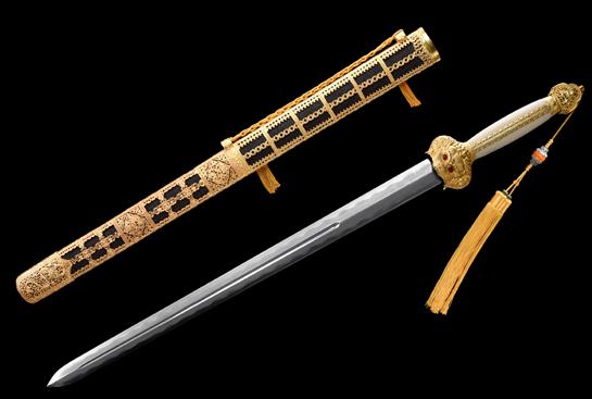 精品大宝剑之大明永乐剑-珍藏版-百炼钢烧刃