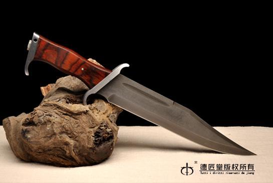 兰博(三)大马士革复刻版-百炼花纹钢