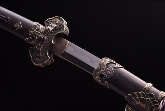 卫府太刀-T10钢烧刃
