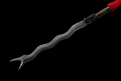 精品蛇矛-百炼钢