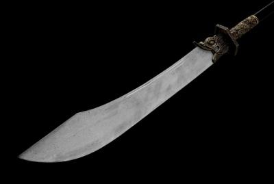 精品朴刀-百炼钢