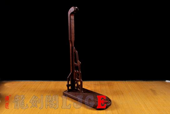 实木/鸡翅木刀剑架-斜立