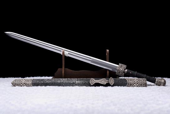 豪华收藏系列之如意剑-纯银珍藏版