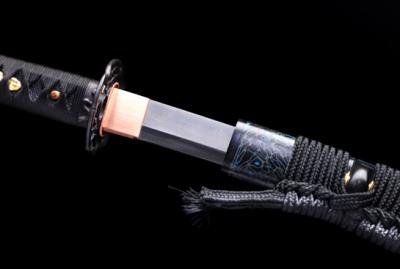 赤尾青竹武士刀-地肌精炼钢