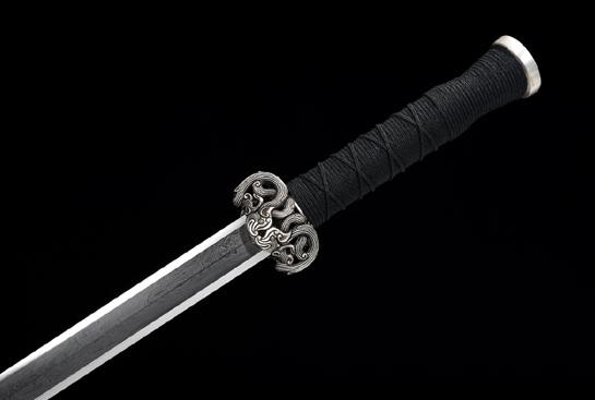 天铁系列之极品银装櫑具剑-孤品-陨铁剑
