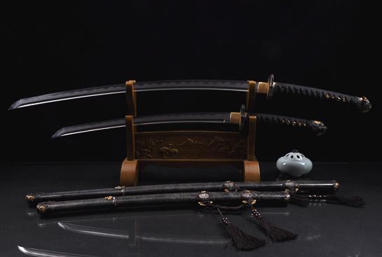 伊贺太刀(套刀)-千层钢烧刃