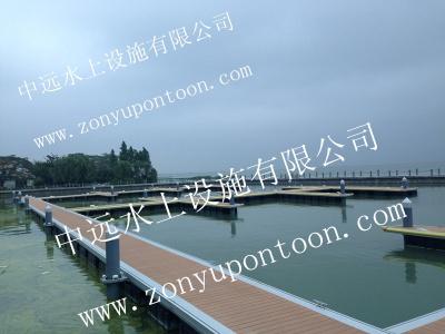 江蘇某公園游艇碼頭