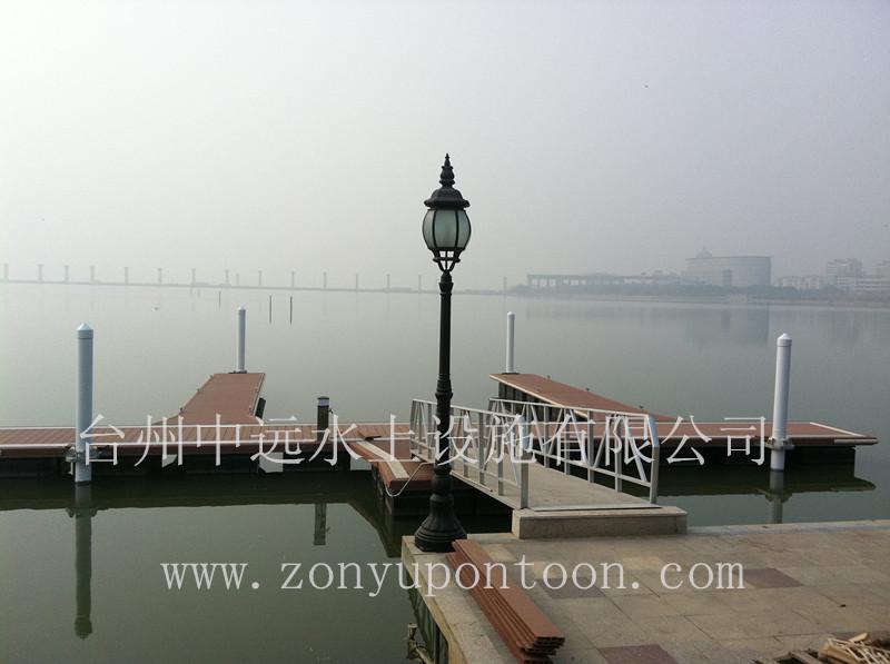 中远出品某景区高档游艇码头