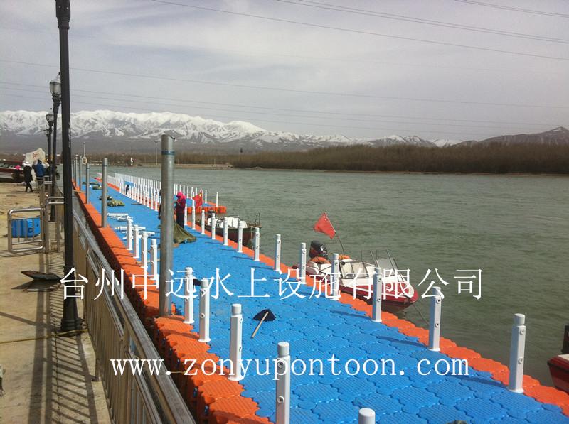 中远出品某景区浮筒码头