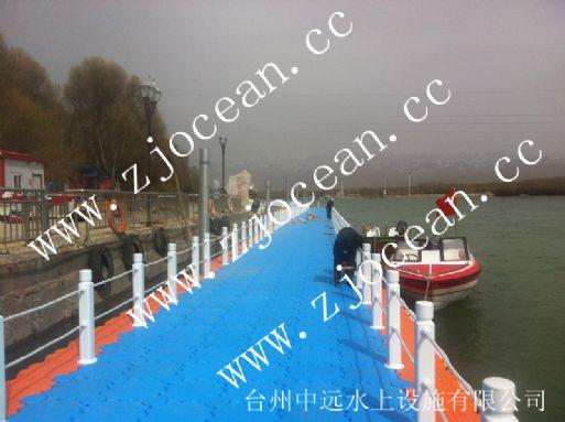 青海某游船码头